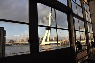 The Erasmus Bridge ,
