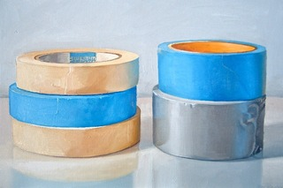 Blue and Yellow (Five Rolls of Tape), Ray Kleinlein