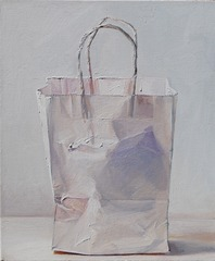 Purple and White (Bag), Ray Kleinlein