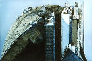 Dark Country City, Wayne Thiebaud