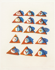 Triangle Thins, Wayne Thiebaud