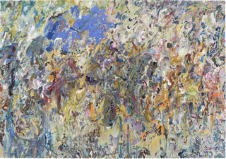 The Flying Blue Cat,Larry Poons