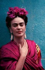 Frida (with Picasso Earrings), Coyoacan ,Nickolas Muray