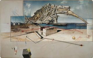 San Francisco Project: Inhabiting the Quake, Quake City, Lebbeus Woods