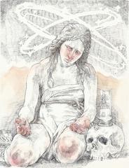 Mary Magdalene & Jesus Skull Bong, Helen Bayly