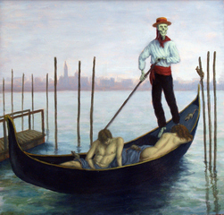 The Gondolier,Sandra Yagi
