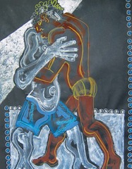 Two Men Hugging, Jonathan Ned Katz