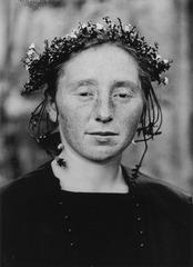 After August Sander, (detail), [August Sander: Rural Bride, ca. 1925-30], Sherrie Levine