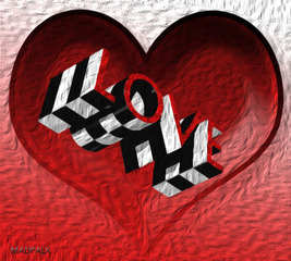 love deeply checkered past...,