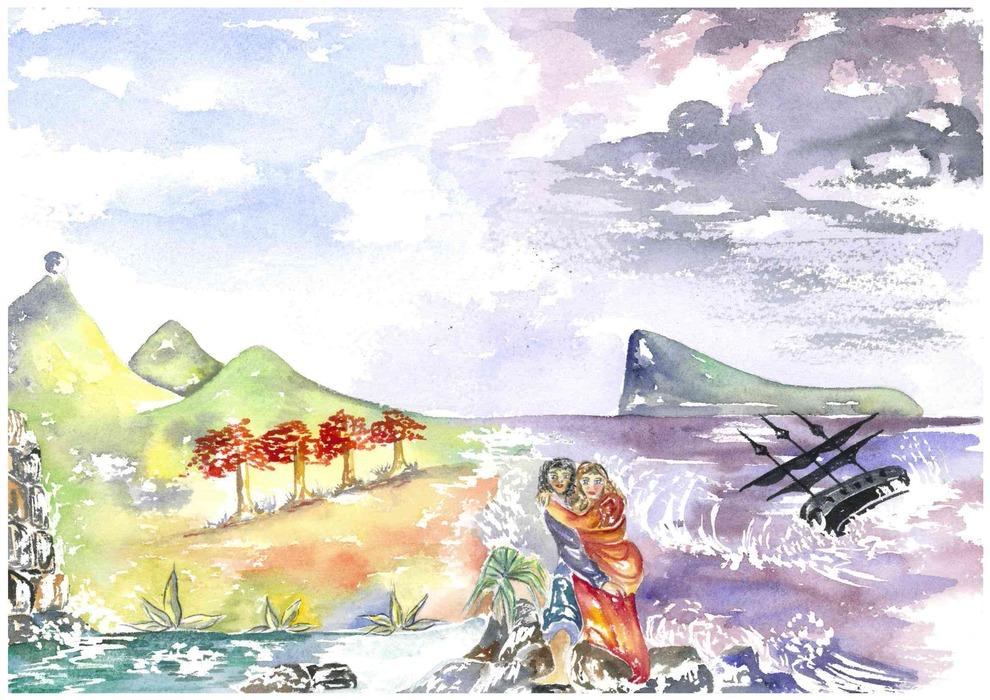 Artslant nadine jeanneton artist from mauritius - Bassin canard mauritius saint paul ...