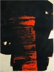 Lithographie   #26, Pierre Soulages