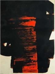 Lithographie   #26, Pierre Soulages