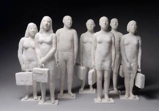 Les valises, Agnès Baillon