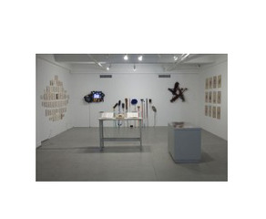 """Cultural Transference"", curated by Sara Reisman, exhibition view at EFA Project Space,"