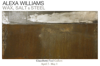 Wax, Salt and Steel Card,Alexa Williams