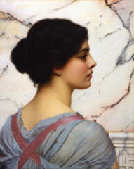 Bellezza Pompeiana , John William Godward
