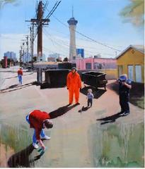 Presentiment Stratosphere, David Nakabayashi