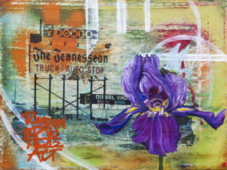 An Iris for the Tennesean, Andrea LaHue