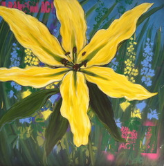 Big Yellow Lily, Andrea LaHue