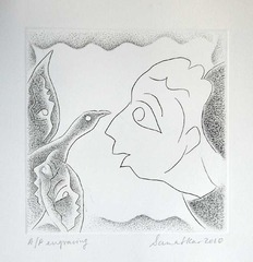 Portfolio of 10 Engravings (on Zinc plate),Sanat Kar