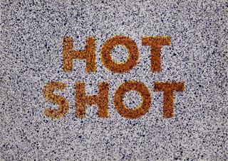 Hot Shot , Ed Ruscha