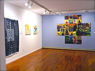 Gallery view, Victor Davson (r) Marlon Forrister (l) Siddiq Khan (middle)