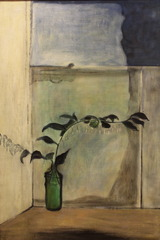 Green Leaves, Blue Window , Thelma Hulbert