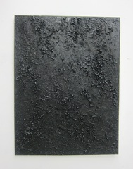 Untitled (black texture flat large), Roman Liska