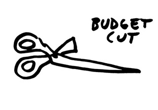 Budget Cut, Dan Perjovschi