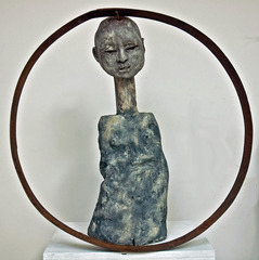 Circle Woman,Elizabeth Featherstone Hoff