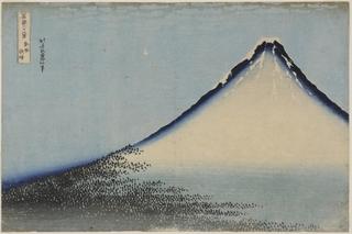South Wind, Clear Dawn, Katsushika Hokusai