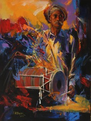 (3) Folk Drummer , Mohammad Ali Bhatti