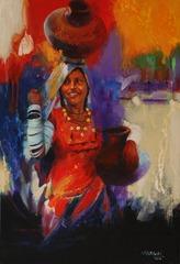 (7) Village Girl, Mohammad Ali Bhatti