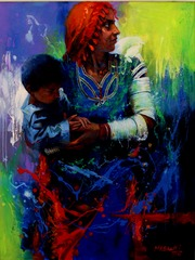 (10) Mother and Child, Mohammad Ali Bhatti