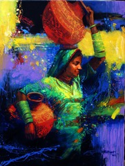 (17)  Tharee Girl, Mohammad Ali Bhatti