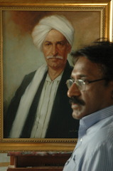 (21) Artist in Studio, Mohammad Ali Bhatti
