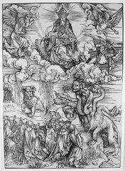 Beast with Two Horns Like a Lamb, Albrecht Durer