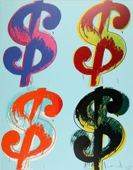 $ (4), Andy Warhol