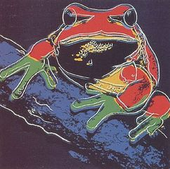 Pine Barrens Tree Frog, Andy Warhol