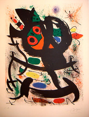 Exposition au Pasadena Art Museum,Joan Miro