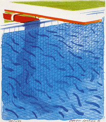 Paper Pools, David Hockney