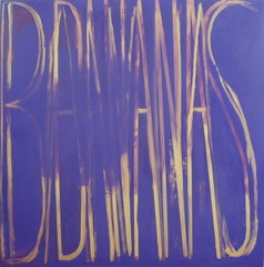 BANANAS (purple/gold), Dana Frankfort