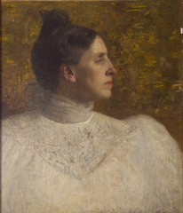 Portrait of Lucy Case Harwood, Unknown