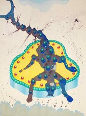 "Scorpio from ""Signs of the Zodiac"" series, Salvador Dali"
