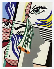 Modern Art II,Roy Lichtenstein