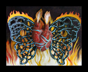 Moth to Flame, Sarah Stone