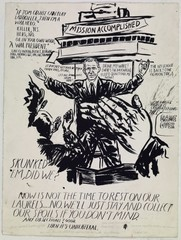 No Title (If Tom Cruise) ,Raymond Pettibon