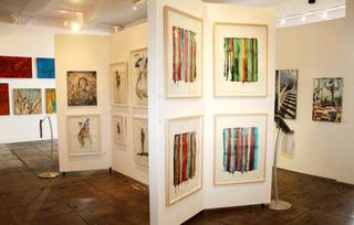 Contemporary Art at Artspace Warehouse Los Angeles, Carl Smith, Mark Acetelli, Raul de la Torre, Clara Berta