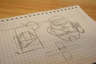 Mongo Papertoy design 1, Temuulen Batmunkh