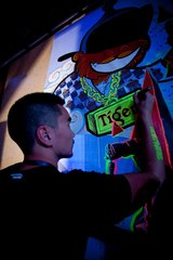 Final touch at the TT2012 event  ,Temuulen Batmunkh